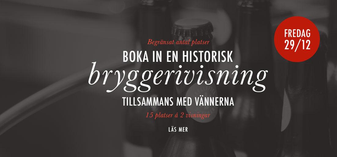 Bryggerivisning special 29 december
