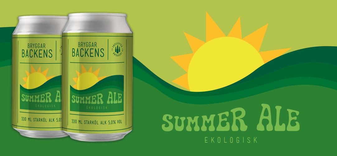 Bryggarbackens Summer Ale Ekologisk