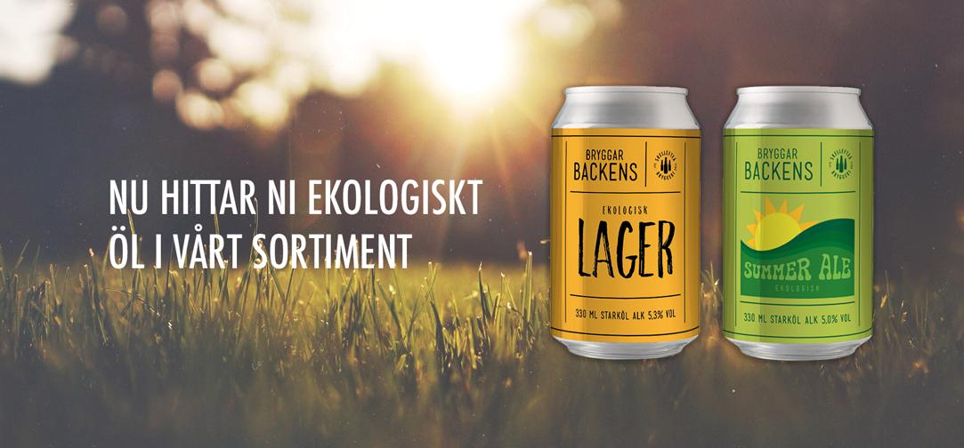 Ekologiskt öl Skellefteå Bryggeri