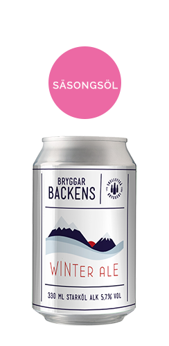 Bryggarbackens Winter Ale burk