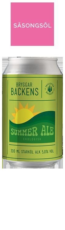 Bryggarbacken ekologisk Summer Ale burk